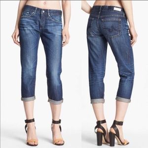 AG Piper Cropped Slouchy Slim Jeans